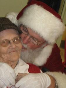 Nanny & Santa 2012